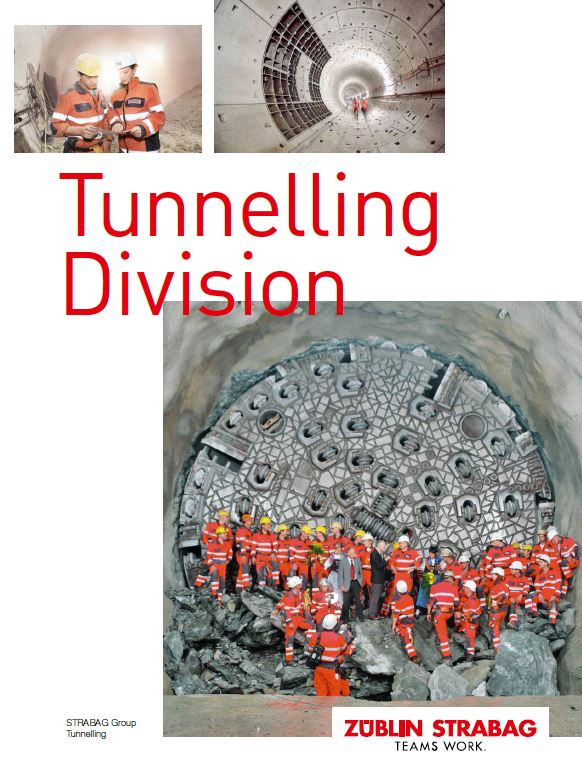 STRABAG Tunnelling Brochure