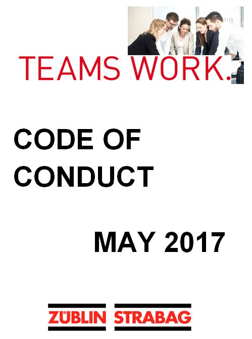 Code of Conduct May 2017